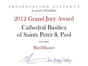 2012 Grand Jury Award - Cathedral Basilica of Saints Peter and Paul